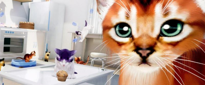 Hands-on with Kitten'd (HTC Vive)