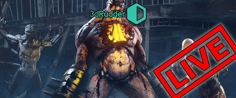 Killing Floor Incursion: Slaying Some ZED's with 3dRudder / HTC Vive Live Stream