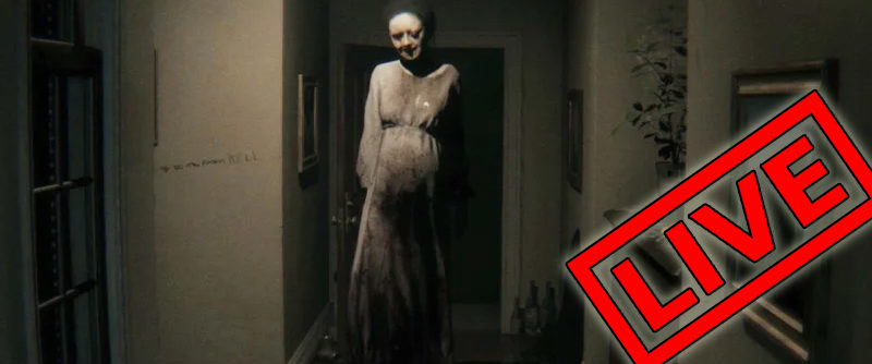 P.T in VR! Time To Get Scared / HTC Vive Live Stream