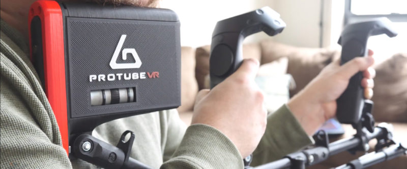 ProTubeVR Launches ForceTubeVR's Kickstarter