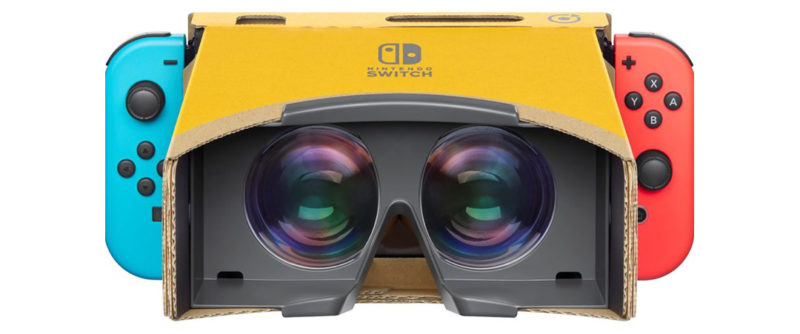 Nintendo Enters The VR Market… Sort Of